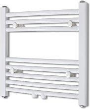 Radiador toallero 480 x 480 mm conector lateral y