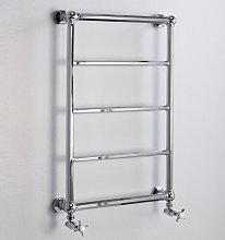 Radiador toallero de pared 5 barras Latón natural