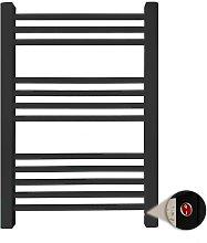 Radiador Toallero Eléctrico Seco Xiros Negro 250w