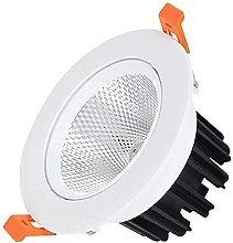 Raelf 5w 10w 15w Foco LED COB Downlight Luz de