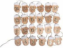 Rayher 46449000 - Guante de madera para calendario
