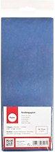 RAYHER Papel de seda, Ultramarina, 50 x 75 cm, 5