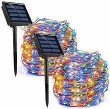 REDSTORM - Guirnalda luminosa solar para