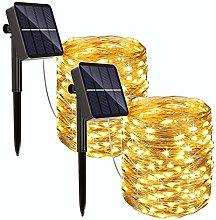 REDSTORM - Guirnalda Solar para Exteriores