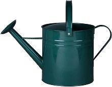 Regadera Zinc Metal verde oscuro 10 L