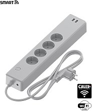 Regleta enchufes inteligentes y USBs POWER SOCKET