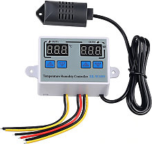 Regulador dual de la humedad de la temperatura de