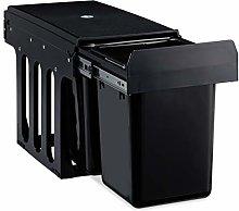 Relaxdays 10031538 - Cubo de basura de cocina