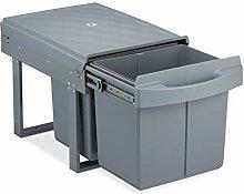 Relaxdays 10031542 - Cubo de basura de cocina (2