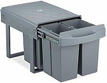 Relaxdays 10031544 - Cubo de basura de cocina