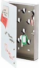 Relaxdays Caja para Llaves con Pizarra magnética