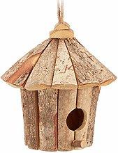 Relaxdays - Casa para pájaros (22 x 22 x 22 cm,