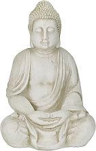 Relaxdays - Estatua Buda XXL, Buda Grande Jardín,