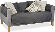 Relaxdays - Funda para sofás de tres plazas,