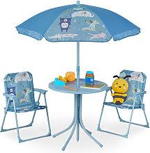 Relaxdays - Mobiliario infantil para jardín,