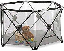 Relaxdays Parque de juegos para bebé, Portátil,