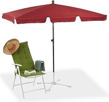 Relaxdays - Sombrilla Playa, Jardín y Terraza