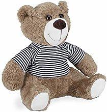 Relaxdays Tope para puerta con diseño de oso de