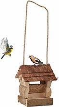 Relaxdays Vogelfutterhaus Comedero para pájaros