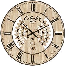 Reloj con calendario perpetuo bicolor D.90