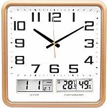 Reloj de Pared silencioso Simple y versátil