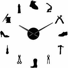 Reloj de Pared Zapatería Zapatero Herramienta