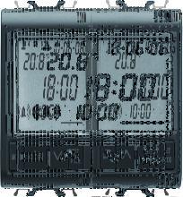 RELOJ-DESPERT.-TERMÓMETRO 2M NEGRO GW12708 -