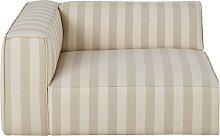 Reposabrazos izquierdo para sofá modular con