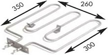 Resistencia Sauna 280X450 mm 2500w 230v