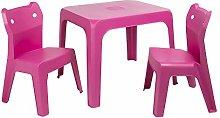resol grupo Jan Cat Set Infantil 2 sillas y 1 Mesa