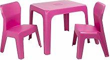 resol grupo Jan Set Infantil 2 sillas y 1 Mesa