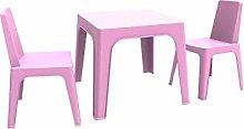resol Julieta set infantil de 2 sillas y 1 mesa
