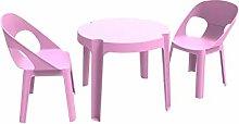 resol Rita set infantil de 2 sillas y 1 mesa para