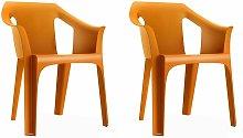 resol set de 2 sillones de jardín exterior Cool -