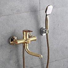 Retro latón baño ducha grifo ducha de mano
