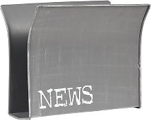 Revistero 35x18x29cm - Gris - Label51