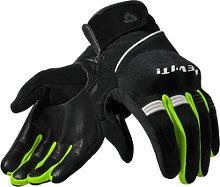 Revit Mosca Motocross guantes, negro-amarillo, 2XL