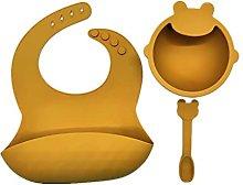 RG-FA 3 piezas bebé silicona babero lechón