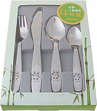 RG-FA 4 unids/set cuchara de bebé alimentación