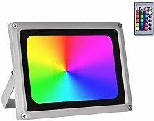 RGB LED Foco de Colores,IP65 Foco LED RGB 16