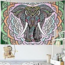 RGFIJP tapizBohemia Mandala Elefante Tapiz