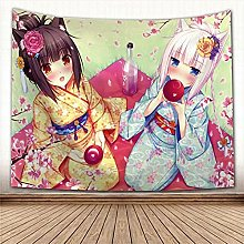 RGFIJP tapizBonito Tapiz de Anime, Alfombra