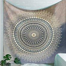 RGFIJP tapizSun Moon India Mandala Tapiz Colgante