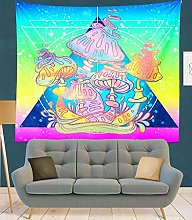 RGFIJP tapizTapiz de Mandala de la India, Tapiz de