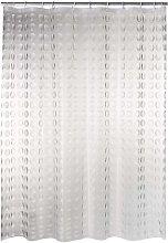 RIDDER Cortina de ducha Loupe vinilo transparente