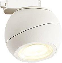 Riel De Luz LED, Foco De Techo Esférico, Moderno