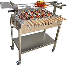 RJMOLU Kit de Parrilla automática eléctrica BBQ