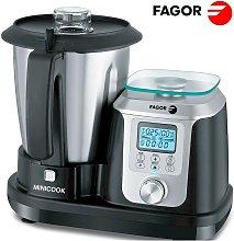 Robot de cocina Minicook - Negro/Cromo - Fagor