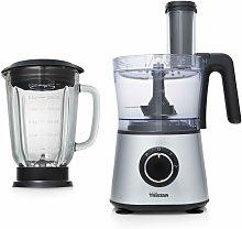 Robot de cocina y batidora plateado 3 L 600 W -