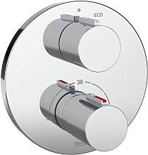 ROCA - Grifo ducha termostático empotrable T-1000